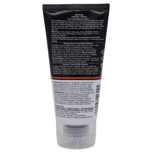 Paul Mitchell Steady Grip Firm Hold Natural Shine Gel 2.5 oz.