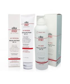 Elta MD UV Aero SPF 45 Broad Spectrum Full Body Sunscreen 6 oz and UV Physical Tinted Broad Spectrum 41 3 oz Combo Pack