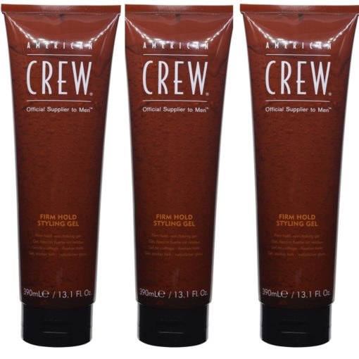 American Crew Firm Hold Styling Gel (Tube) 13.1 Oz- 3 Pack