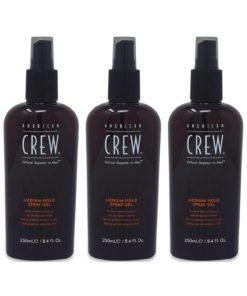 American Crew Medium Hold Spray Gel 8.4 Oz 3 Pack