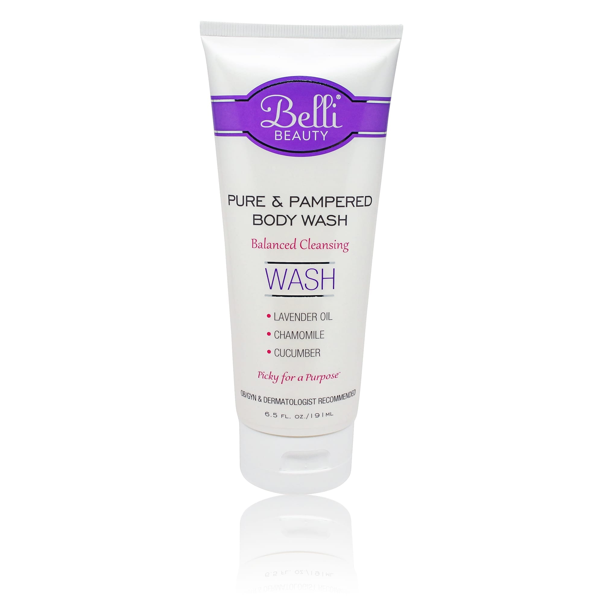 Belli Pure and Pampered Body Wash 6.5 Oz