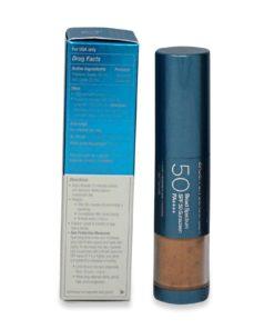 Colorescience Sunforgettable Brush on Sunscreen SPF 50 Deep 0.21 oz.