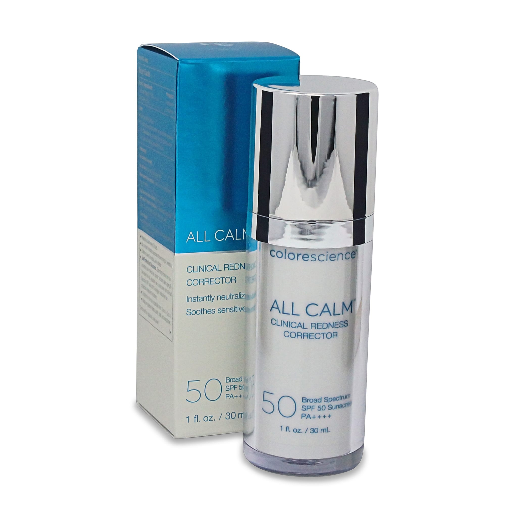 Colorescience All Calm Clinical Redness Corrector SPF 50 Broad Spectrum