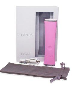 FOREO ESPADA Blue Light Acne Treatment Pink