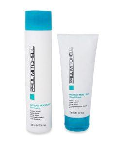 Paul Mitchell Instant Moisture Shampoo 10.14oz. Treatment 6.8 oz.