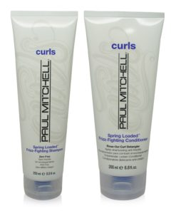 Paul Mitchell Curls Spring Loaded FrizzFighting Shampoo 8.5 oz. and Conditioner 6.8 oz. Combo Pack