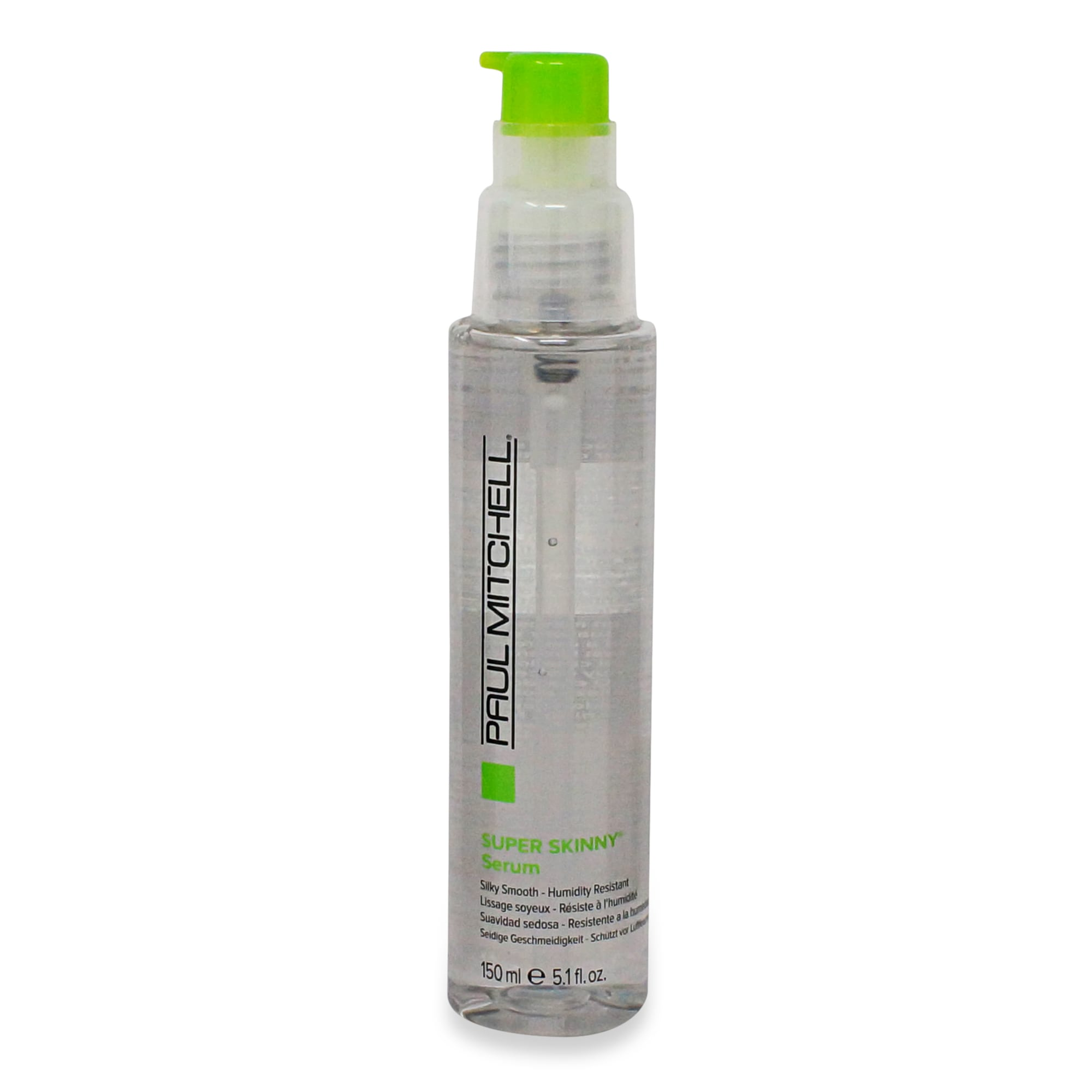 Paul Mitchell Smoothing Super Skinny Serum for a messy bun