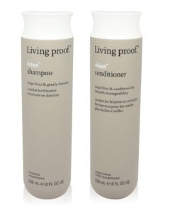 Living Proof No Frizz Shampoo and Conditioner Combo Set  Each 8 oz.
