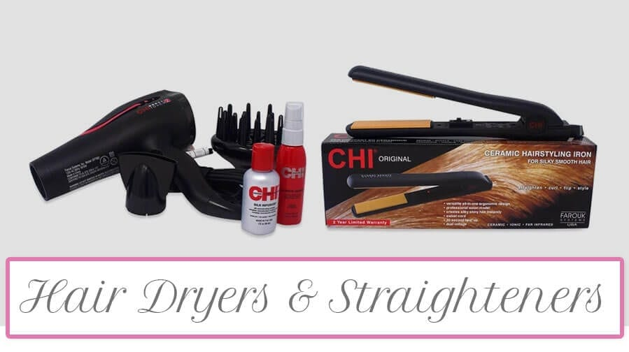 Hair Dryers & Straighteners