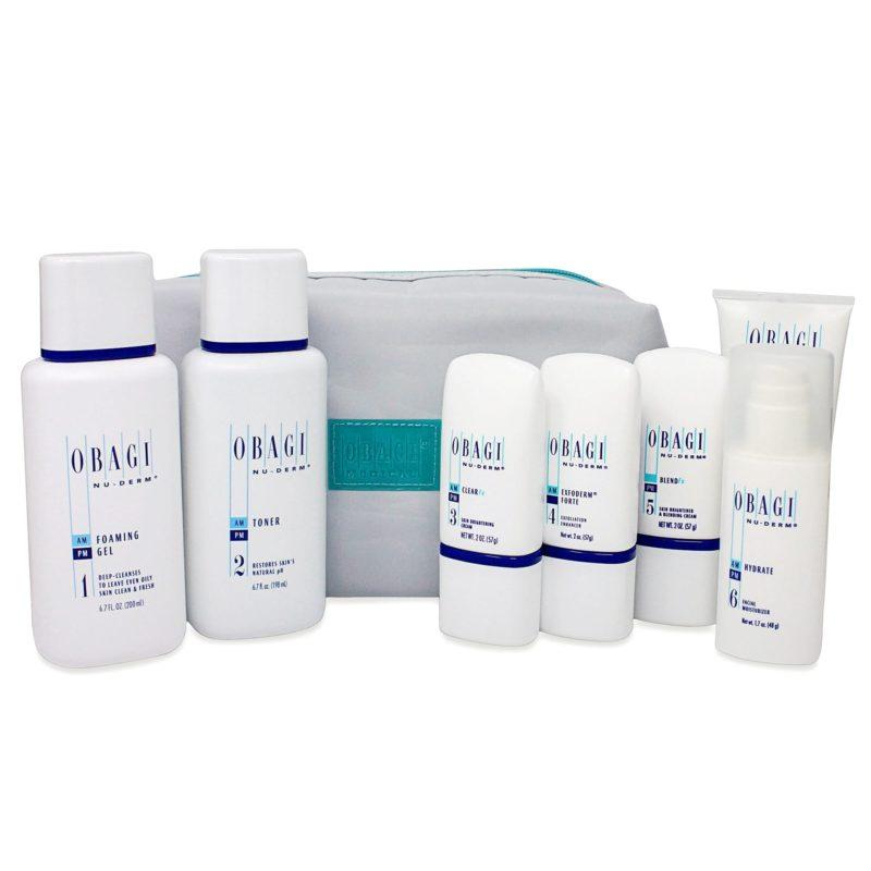 Obagi Nu-Derm Fx System Normal to Oily Skin Care Kit
