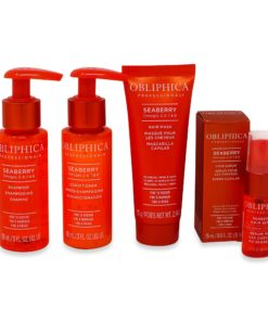 Obliphica Professional Seaberry Fine To Medium Travel Kit