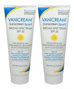 Vanicream Sport Sunscreen SPF 35 4 Oz (Pack of 2)