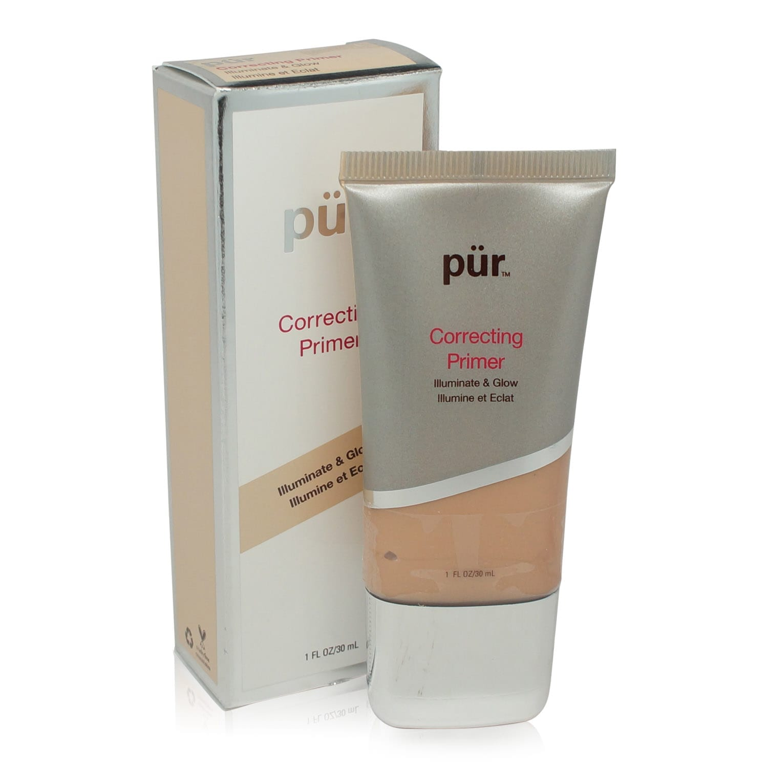 PUR Correcting Primer Illuminate & Glow 1 oz.