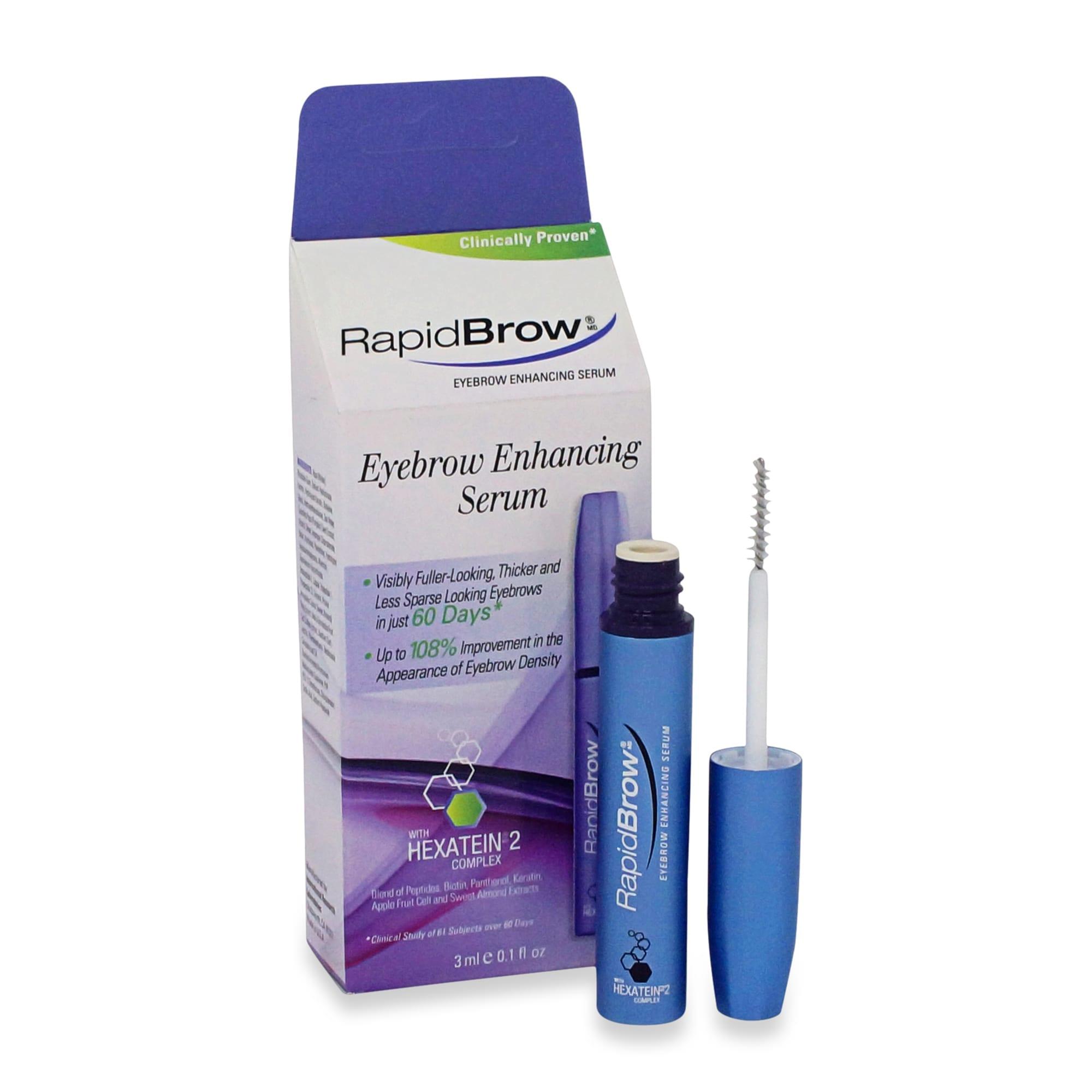 Rapidbrow Eye Brow Enhancing Serum 0.1 Oz