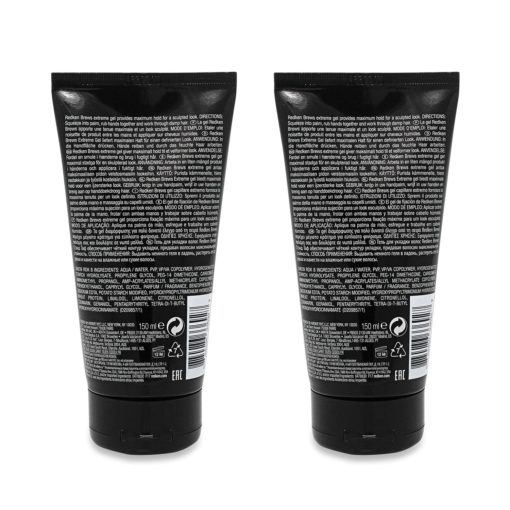 Redken Brews For Men Stand Tough Extreme Gel 5 oz - 2 Pack
