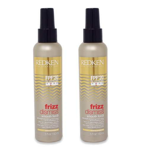 Redken Frizz Dismiss FPF 20 Smooth Force Smoothing Spray 5 oz - 2 Pack