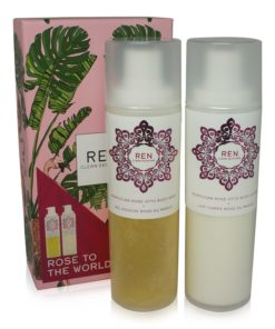 REN Rose to the World Duo 200ml of each