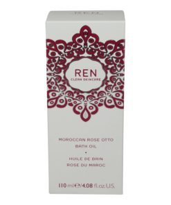 REN Skincare Moroccan Rose Otto Bath Oil 4.08 Oz