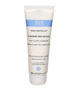 REN Skincare Rosa Centifolia Hot Cloth Cleanser 3.3 oz.