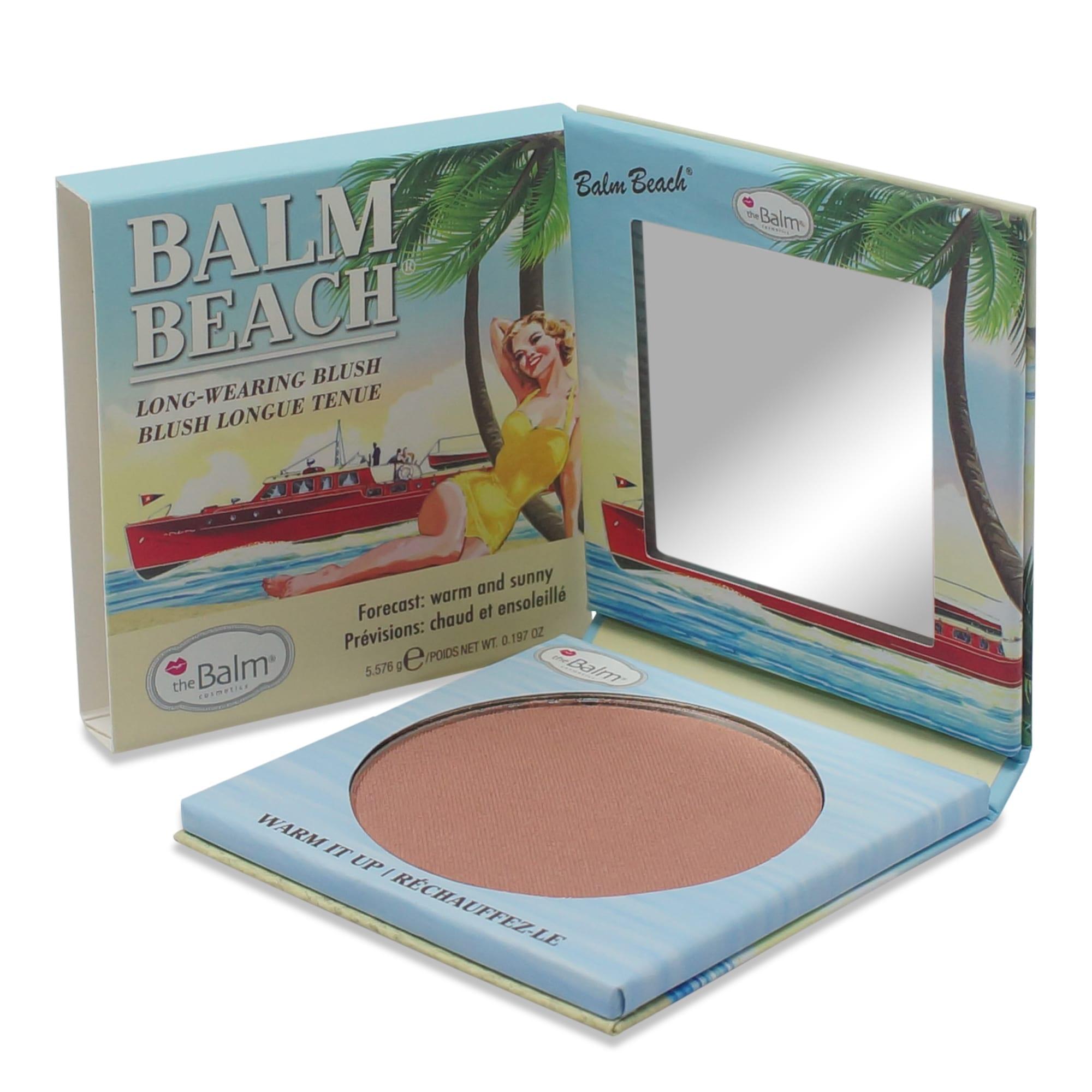 theBalm Balm Beach Warm it Up Face Blush 0.225 Oz