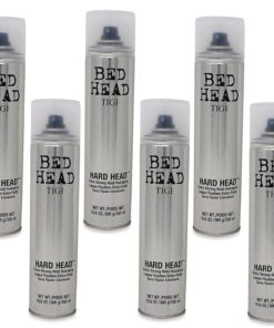 Tigi - Bed Head - Hard Head Hairspray - 10.6 Oz 6 Pack