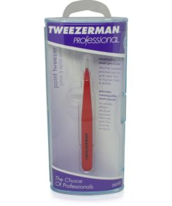 Tweezerman Point Tweezer Red