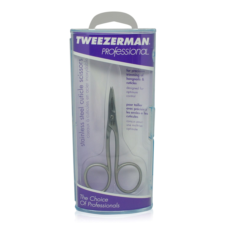 Tweezerman Stainless Cuticle Scissors - Professional