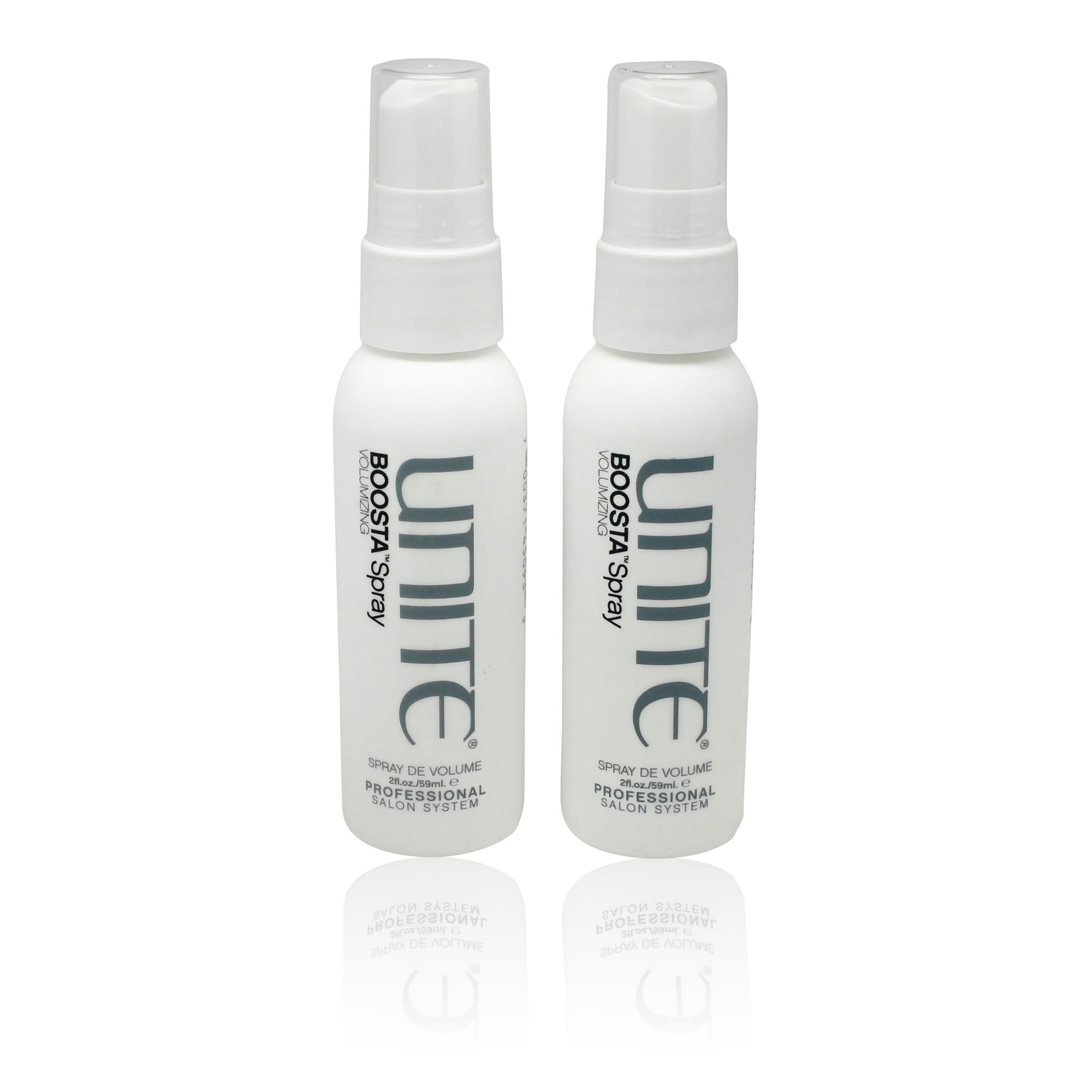 Use UNITE Boosta Spray Volumizing Spray