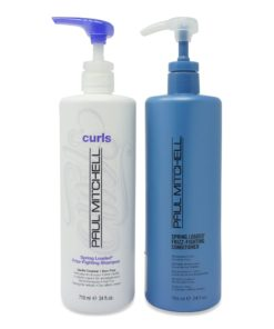 Paul Mitchell Curls Spring Loaded FrizzFighting Shampoo and Conditioner 24 oz. Combo Pack
