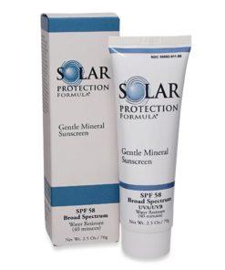 TiZO Solar Protection Formula Sunscreen SPF 58 - 2.5 Oz