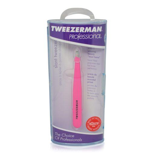 Tweezerman Slant Tweezer Neon Pink