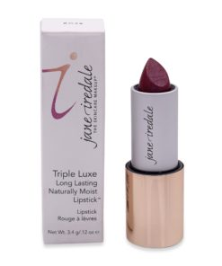 jane iredale Triple Luxe Long Lasting Naturally Moist Lipstick Rose 1.13 oz