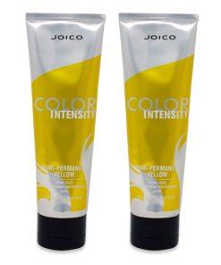 Joico Vero K-Pak Intensity Semi Permanent Hair Color, Yellow 4 Oz 2 Pack