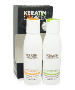 Keratin Complex Care Shampoo and Conditioner Travel Valets Care 3oz. Each