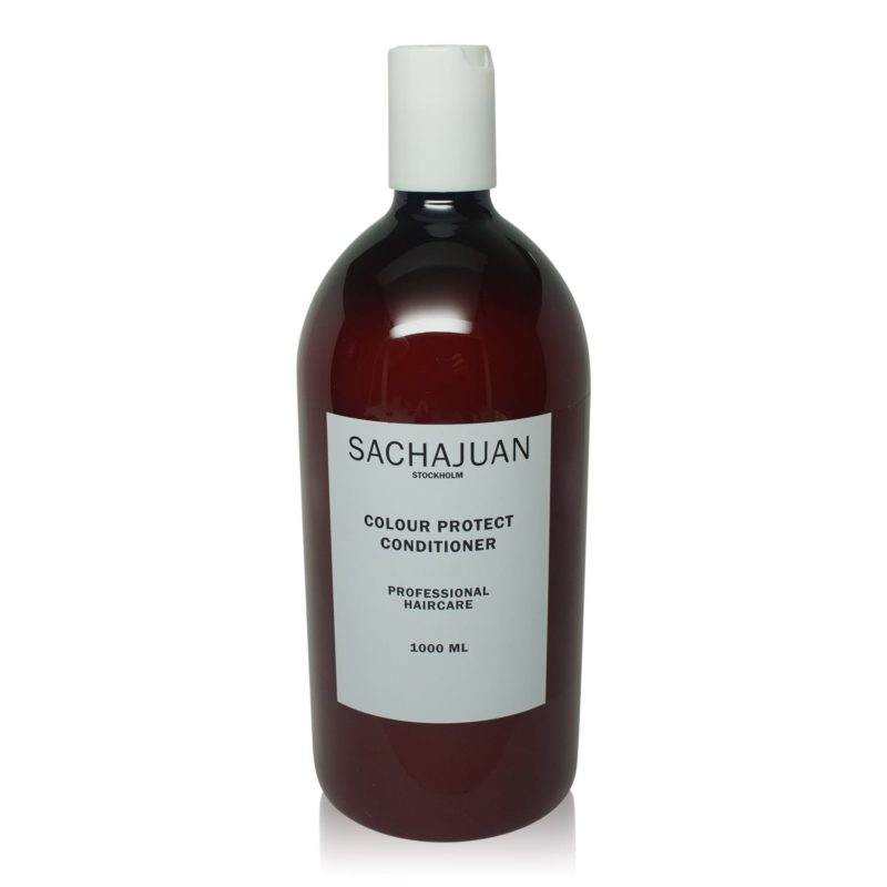 Summer Hair is improved with Sachajuan Colour Protect Shampoo