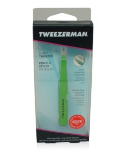 Tweezerman Slant Tweezer Green Apple