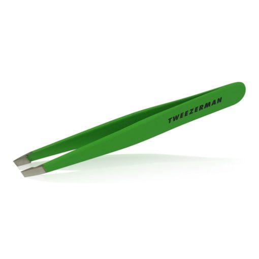 Tweezerman Slant Tweezer Green Apple