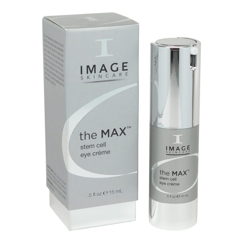 The MAX Stem Cell Eye Creme 0.5 oz front view of product and box
