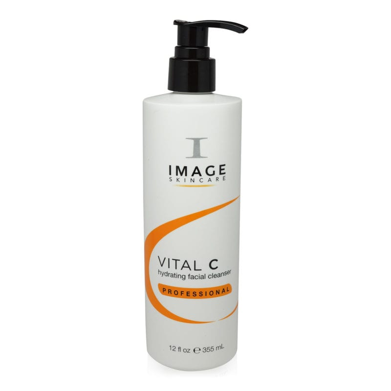IMAGE Skincare Vital C Hydrating Facial Cleanser 12 ounce front view of product