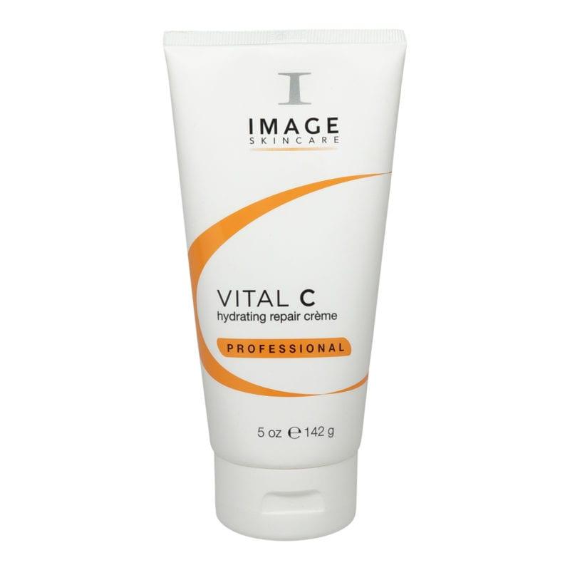 Tube of IMAGE Skincare Vital C Hydrating Repair Cream front view