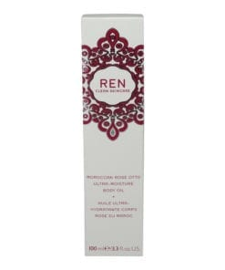 REN Skincare Moroccan Rose Otto Ultra Moisture Body Oil 3.3 Oz