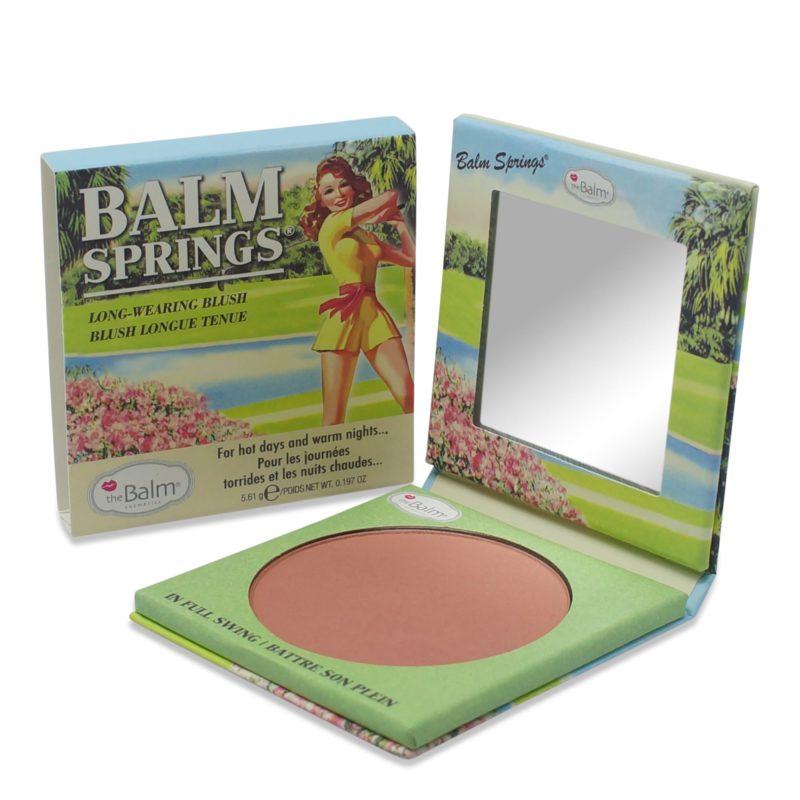 Choose a Blush for fair skin like theBalm Balm Springs