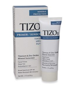 TiZO 3 Facial Mineral Sunscreen Tinted SPF 40 1.75 Oz