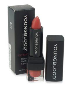 Youngblood Intimatte Mineral Matte Lipstick Vamp .14 oz.