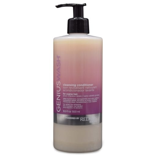 Redken Genius Wash Cleansing Conditioner for Coarse Hair 16.9 Oz