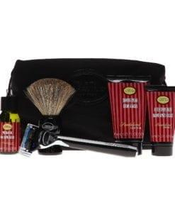 The Art of Shaving 5 Piece Travel Kit with Morris Park Razor, Sandalwood