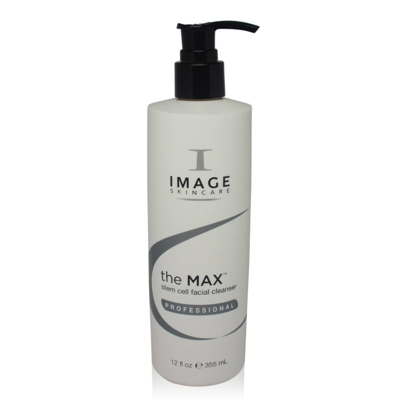 IMAGE Skincare Face Wash - The MAX Stem Cell Front View of Bottle