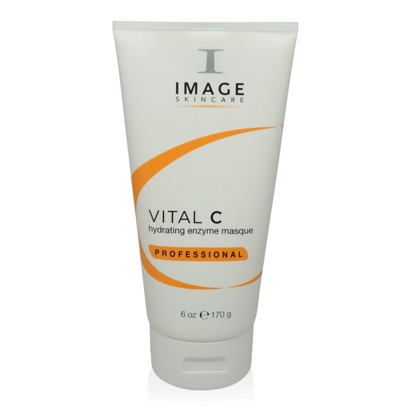 IMAGE Skincare Vital C Hydrating Enzyme Masque Professional front view of 6 oz bottle and box