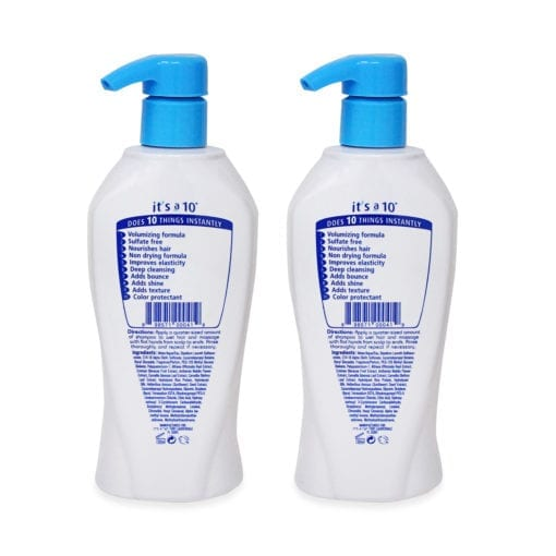 Its A 10 Miracle W Volumizing Shampoo 10 Oz- 2 Pack