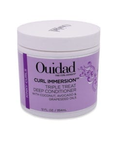 Ouidad Curl Immersion Triple Treat Deep Conditioner, 12 oz.